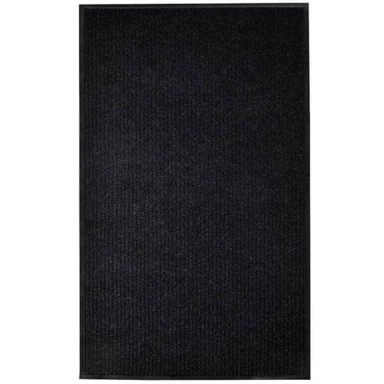 shumee Rohožka černá 160 x 220 cm PVC