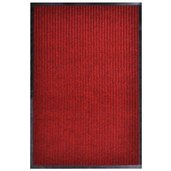 Rohož pred dvere červená 160x220 cm PVC