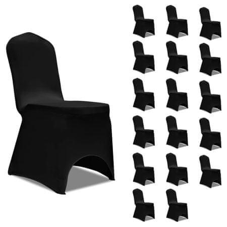 shumee 18 db fekete sztreccs székszoknya