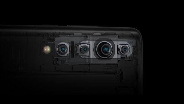 Xiaomi Mi 10, štvornásobný fotoaparát, ultraširokouhlý objektív, vysoké rozlíšenie, makro objektív, umelá inteligencia, makro.