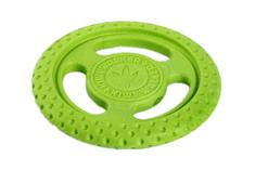 KIWI WALKER Repülő és úszó frizbi TPR műanyagból zöld, 22 cm