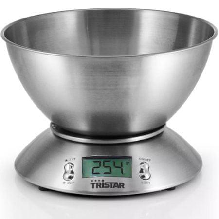 shumee Tristar Konyhai Mérleg 5 kg Mérési Tál