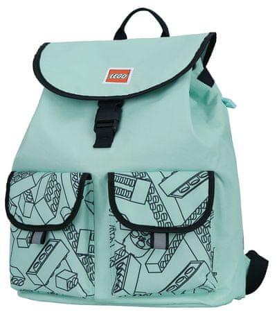 LEGO Tribini HAPPY hátizsák- menta zöld