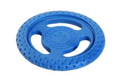 KIWI WALKER Repülő és úszó frizbi TPR műanyagból kék, 22 cm