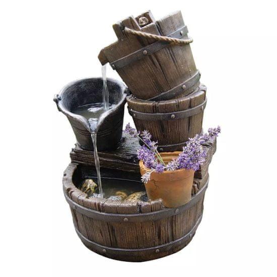 Ubbink vodní fontana set Halifax 1387046