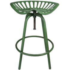 "Esschert Design Barová židle ""Traktor"" zelená IH023"