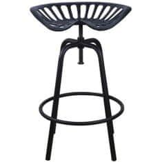 """Esschert Design Barová židle """"Traktor"""" černá IH031"""