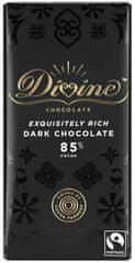 DIVINE Divine hořká čokoláda, 85 % kakaa, 90g