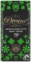 DIVINE Divine hořká čokoláda s mátou, 70 % kakaa, 90g