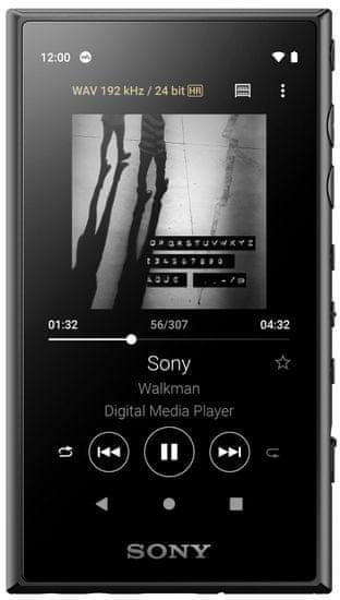 SONY NW-A105, čierna