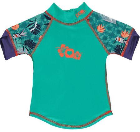 Pop-in otroška majica z UV filtrom Hummingbird, 3XL, zelena