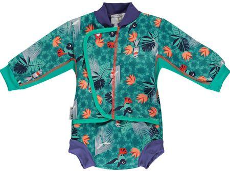 Pop-in Dziecięcy kombinezon z kostiumem kąpielowym Hummingbird S zielony