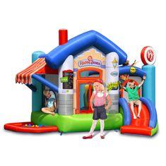 Happy Hop Skákací hrad Veselý obchůdek s míčky a hrací plochou