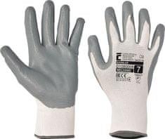 Cerva Nitrilové pracovné rukavice Babbler 6