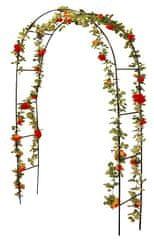 ProGarden Zahradní oblouk na růže a popínavé rostliny 140 x 240 cm