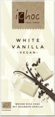 Ichoc iChoc Rýžová čoko bílá s vanilkou 80 g