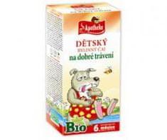 Apotheke čaj dětský na dobré trávení Bio n.s. 20 x 1,5 g