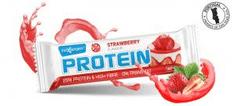 MaxSport Maxsport Protein Bar 60g proteinová tyčinka jahodová