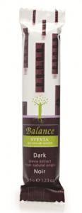 Klingele Chocolade Balance Hořká čokoláda se stévií bez přidaného cukru 35g