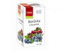 Mediate Apotheke premier čaj borůvka a brusinka n.s. 20x2g
