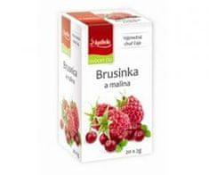 Mediate APOTHEKE premier čaj brusinka a malina n.s. 20x2g
