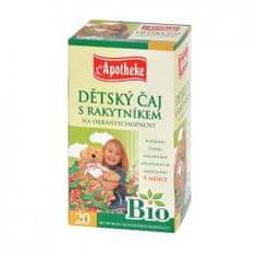 Mediate APOTHEKE Bio dětský čaj s rakytníkem n.s. 20x1,5g