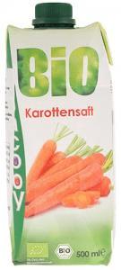 JACOBY Jacoby Šťáva mrkvová 500ml Bio