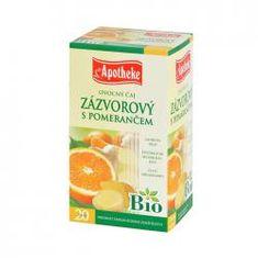 Mediate APOTHEKE Bio zázvor a pomeranč čaj n.s. 20x1,5g