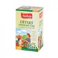 Mediate APOTHEKE Bio dětský čaj se šípkem n.s. 20x2g