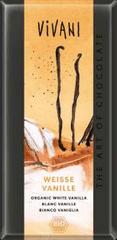 EcoFinia Vivani bílá čokoláda s vanilkou Bio 80g