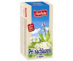 Mediate APOTHEKE čaj při nachlazení s lípou n.s. 20 x 1,5 g