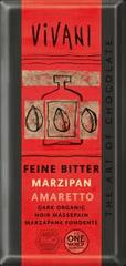 EcoFinia Vivani hořká čokoláda s náplní marzipan amaretto Bio 100 g