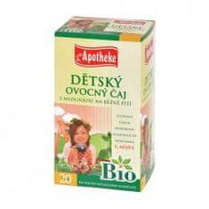 Mediate APOTHEKE Bio dětský čaj s meduňkou n.s. 20x2g