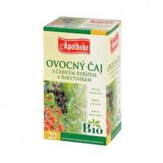 Mediate APOTHEKE Bio černý rybíz čaj s rakytníkem n.s. 20x1,5g