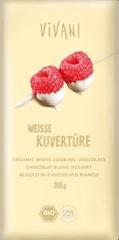 EcoFinia Vivani čokoláda na vaření bílá bio 200g