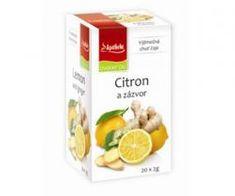 Mediate Apotheke Premier Čaj citron a zázvor n.s. 20x2g