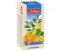 Mediate APOTHEKE čaj na odkyselení se smetankou 20 x 1,5 g