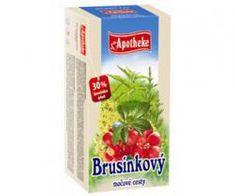 Mediate APOTHEKE čaj brusinkový močové cesty n.s. 20 x 1,5 g