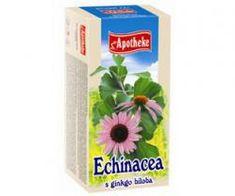 Mediate APOTHEKE čaj echinacea s ginkgo biloba n.s. 20x1,5g