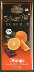 Liebhart´s Čokoláda hořká s pomerančem 100g Bio