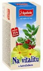 Mediate APOTHEKE čaj na vitalitu s kotvičníkem 20 x 1,5 g