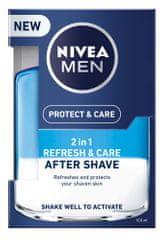 Nivea Ošetrujúca voda po holení 2v1 Men Refresh&Care 100 ml