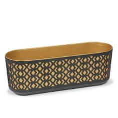 Lamela truhlík AZTEK 60 cm, zlatá