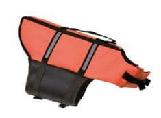 Karlie kamizelka ratunkowa dla psa, pomarańczowa