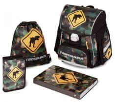 Karton P+P školski komplet Premium T-Rex