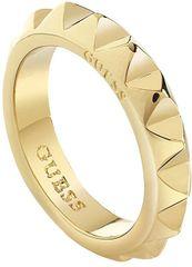 Guess Efektné pozlátený prsteň UBR84033