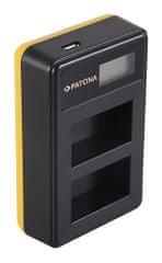 Immax Nabíječka Foto Dual LCD Sony NP-FW50- USB