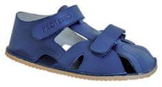 Protetika chlapčenské topánky ZERO, navy