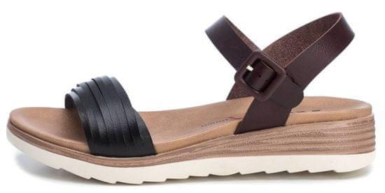 XTI dámske sandále 49846 36 čierne