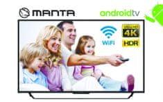 Manta 50LUA19D 4K-UHD, HDR10, Android televizor